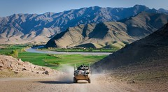 Driving through Tangi Valley (U.S. Central Command (CENTCOM)) Tags: afghanistan kandaharairfield af province centcom uruzgan uscentralcommand 16thmpad mentoringtaskforce2 combinedteamuruzgan