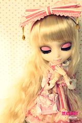 Melody - Pullip Prupate (Kim-kun) Tags: melody lolita rement angelicpretty obitsu sfoglia raphia pulliplatte dalmaretti starryskyparty pullipprupate