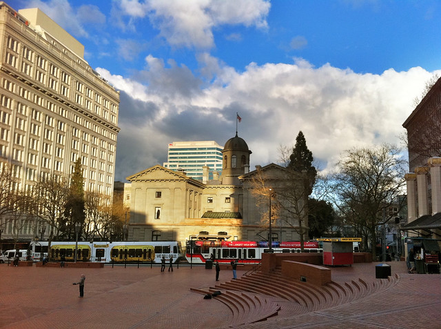 Pioneer Square ~ Early Evening