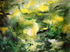 Watercolour: abstract:...Spirit of Vigour... (Nadia Minic) Tags: white green art yellow japan painting spirit exhibition luxembourg symbolic vigour abstrait aquarelliste kob nadiaminic abstractwatercolour aquarellecontemporaine luxembourgartcontemporain greenyellowpainting musehyogo artistepeintreluxembourg