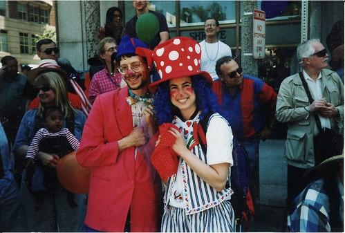 Clowns at Pride