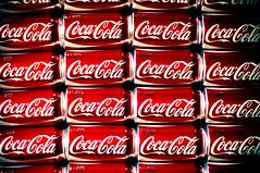 Addiction (CurryRojo) Tags: red lomo nikon drink beverage coke pop repetition soda cocacola vignette repetitive d90 dailyshoot