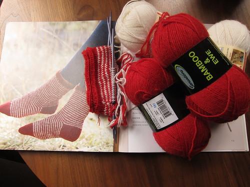 Ulla Twined Socks