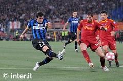 Roma-Inter 0-1 finale Coppa Italia 2010