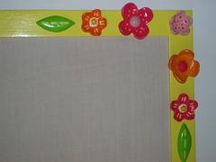 Quadro de corticite (SMAC colours) Tags: flores home garden casa country campo decoração cor móveis objectos showyourhouse gardenhome inspirações