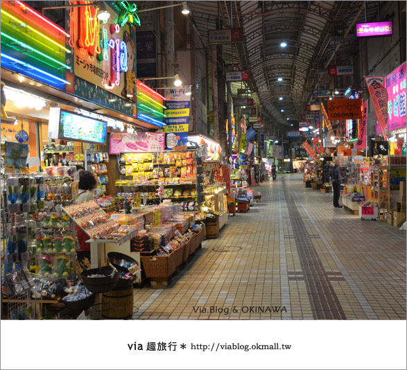 【沖繩必買】跟via到沖繩國際通+牧志公設市場血拼、吃美食!13