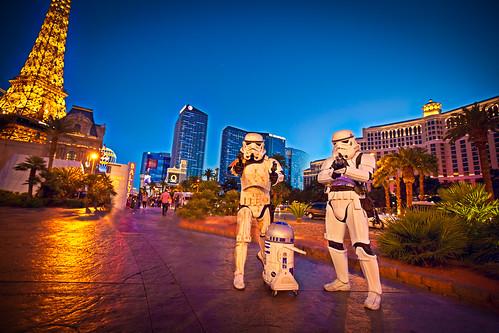 Las Vegas Stormtroopers (& R2D2)