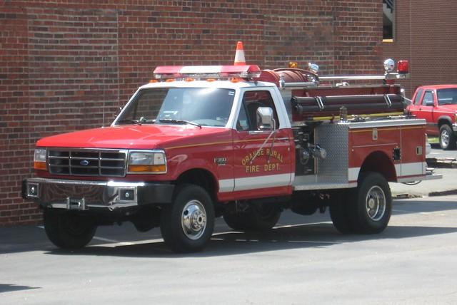 county orange ford rural truck fire nc north brush carolina 1998 1992 xl department dept f350 ncnick