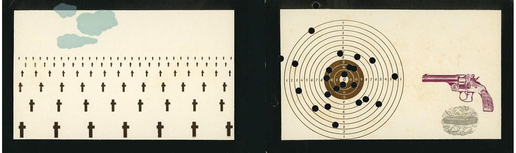 BRAND, Jan.  N.p. (Brummense Uitgeverij van Luxe Werkjes) 1974.  3 postcards in envelope.