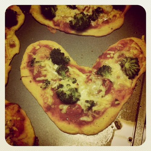 Veggie Pizza...xoxo