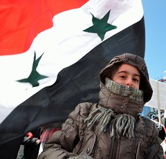 Sarah. Syrian demonstration, Dundas Square, Toronto, March 26, 2011 (Anna Sakin) Tags: family toronto canada girl children demo freedom justice democracy bahrain support child symbol flag political rally protest young egypt patriotic civil solidarity arab revolution syria immigrants kuwait dictator popular unrest libya campaign involvement rule protester revolt activists dynasty bashar immigrant activist regime uprising symbolic autocrat dundassquare syrian ruling assad mubarak march26 dictators multiculturalism escalation 2011 authoritarian catchycolorred antigovernment ghaddafi 26march syrianflag d7000 longserving arabunrest thearabspring syrianwithaflagofsyria torontosyrianrally arabawakening arabprotests childrenpoliticalinvolvement childrenpoliticalactivism childwithaflagofsyria disobedince thespringuprising