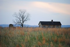 sunset over the field (ekelly80) Tags: sunset sky mountains tree field grass barn virginia nationalpark wheat meadow civilwar manassas dcist manassasbattlefield manassasbattlefieldnationalpark we3dc
