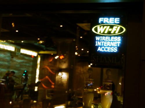 上海のwifi使えるお店