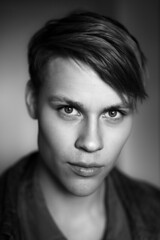 Sebastian (TGKW) Tags: boy portrait people blackandwhite man face sebastian stockholm swedish 5555