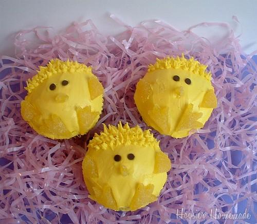 easter cupcakes with peeps. Peeps Cupcakes
