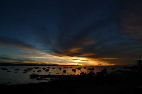 Sunset - Copacabana, Bolivia