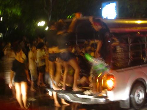 Songkran day 1: Silom