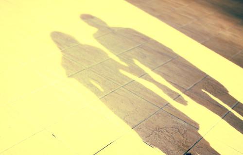 [フリー画像] 人物, カップル・恋人・夫婦, シルエット, 201104250700