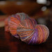 hand spun and hand dyed yarn