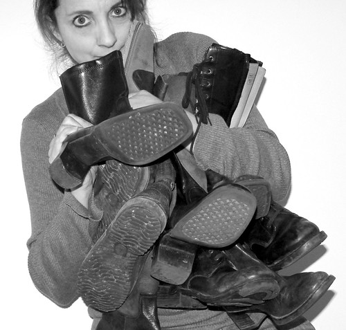 blackandwhite bw selfportrait boots footwear bootylicious accumulation ilovemyboots ourdailychallenge lotsofboot youcanneverhavetoomanyboots