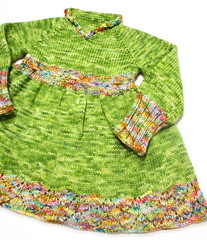 'in these hands' Ridinghood Sweater 12-24 months