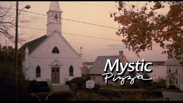 Mystic Pizza-Exterior Church