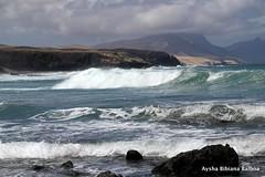 Playas de Fuerteventua (Aysha Bibiana Balboa) Tags: paisajes sol atardecer mas fuerteventura nubes olas playas puestasdesol dunas jandia corralejo marinasacantilados ayshabibianabalboa