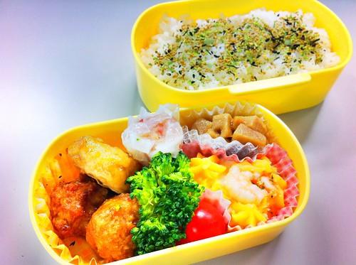 今日のお弁当 No.155 – 青じそひじき