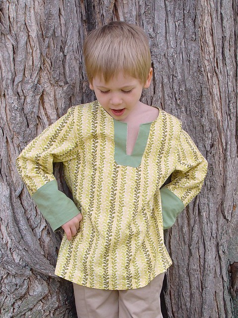 Connor's Easter Tunic, view 2