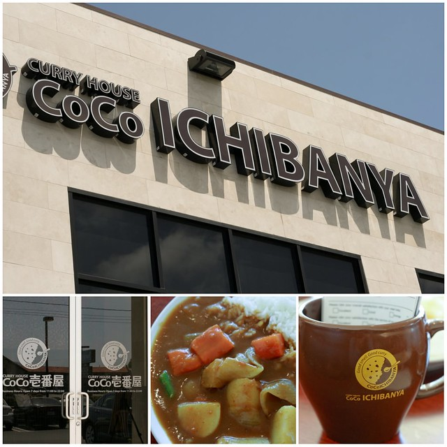 CoCo Ichibanya Curry House collage 2