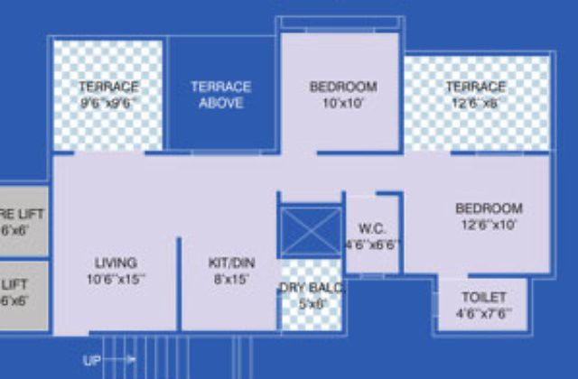 Reelicon Vishwa Narhe-Ambegaon 2 BHK Flat 647 carpet + 2 terraces For 33.14 (Launch Offer)