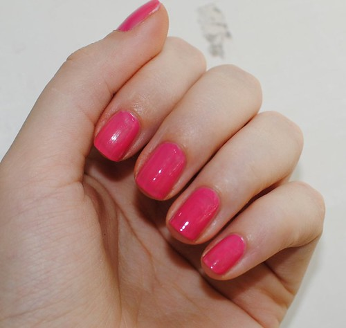 OPI - Strawberry Margarita, 1 layer only
