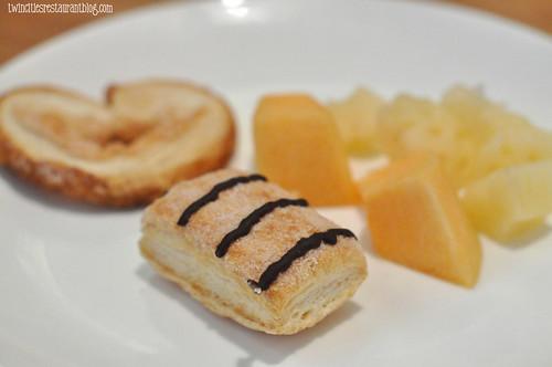 Dessert Plate at Osaka Sushi & Hibachi ~ Maplewood, MN