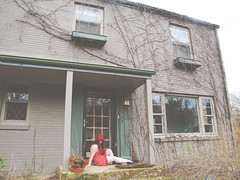 (bellydnce1103) Tags: house selfportrait abandoned girl illinois vines sitting rockford ithinkiveusedthispose1864354timesnowsigh