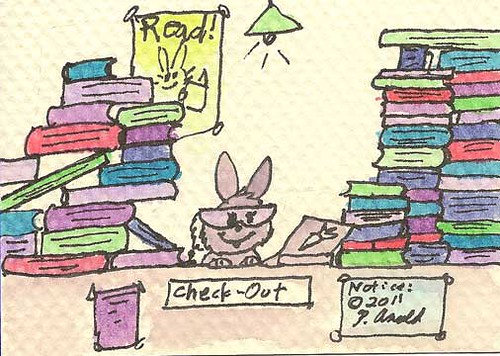 183 - A Library Bunny