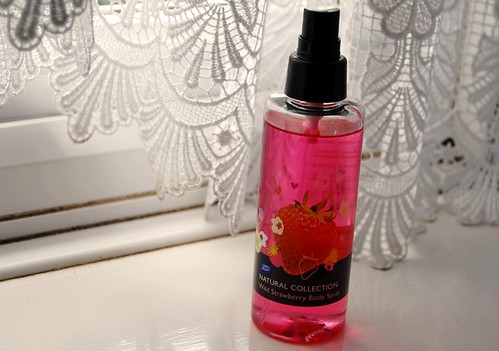 Natural Collection Wild Strawberry body spray