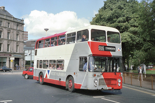 Northumbria Motor Services Bristol VRT / ECW 562 (SGR783V)
