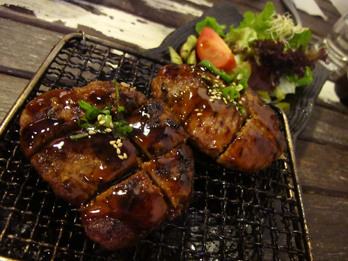 Korean hamburger steak