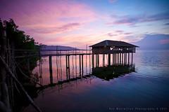 Siquijor, a breakaway... from the everyday. (Rex Maximilian) Tags: ocean sunset sea evening pier twilight philippines hut shore karaoke visayas larena siquijor visayanislands guiwanonspring barangayluyang