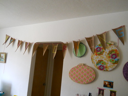 Breakfast party banner