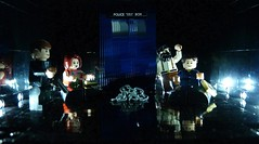 Dr Who (Legoagogo) Tags: lego who dr drwho tardis chichester area51 moc amypond dayofthemoon