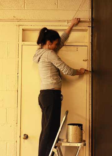 Jenny painting