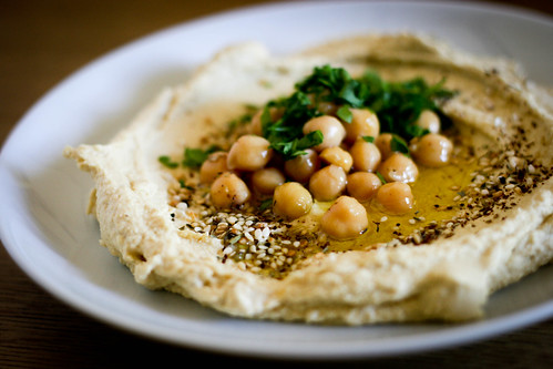 Hummus with Za'atar