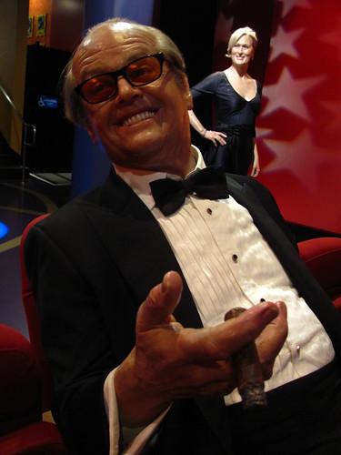 Jack Nicholson figure at Madame Tussauds Hollywood