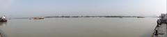Panorama Baboo Ghat ,Kolkata - Panorama (Rajesh_India) Tags: panorama india memorial victoria kolkata calcutta