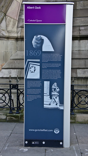 Albert Memorial Clock -  Belfast's answer to Pisa's leaning tower