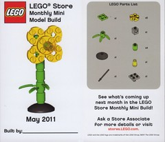 LEGO Store MMMB - May '11 (Flower) (TooMuchDew) Tags: holiday flower fleur lego may blume legostore bloem aprilshowersbringmayflowers may11 legoimaginationcenter legoinstructions mmmb legoclub toomuchdew monthlyminimodelbuild licmoa minimodellbauevent