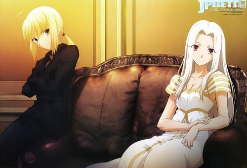 TYPE-MOON「魔法使之夜」、穿越OVA「Carnival Fantasm」PV公开,「Fate/Zero」10月播出