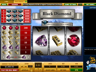 Black Diamond 5 Lines slot game online review