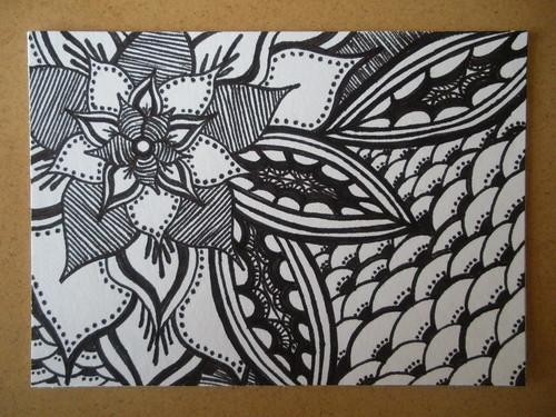 """""""Doodle Details"""" ATC"""